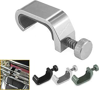QIDIAN Motorcycle Storage Bag Hook Universal for Piaggio Vespa Sprint Primavera 50 125 250 300 Adjustment Bag Frame Hook Crotchet Grips for Vespa GTS Accessories (silver)