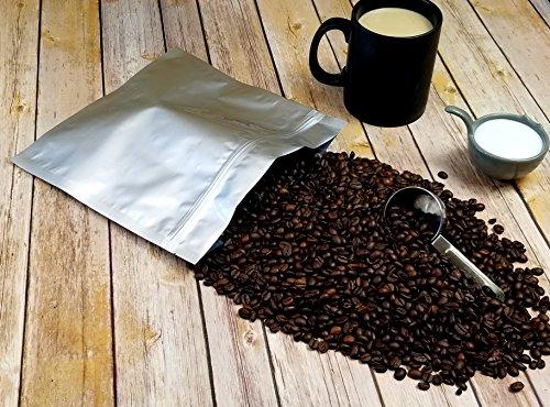 (50) 1.5 Quart Odor-Proof 5 Mil Ziplock Genuine Aluminum Foil Mylar Bags for Herb, Seed, Food and Organics Storage (10x10) (50)