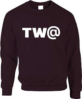 TW@ Jumper Offensive Swearing Symbol Joke Sweatshirt Sweater