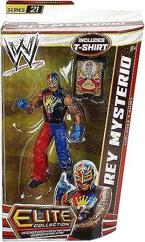 diseño único WWE WWE WWE Elite Collection Rey Mysterio Figura de acción  suministramos lo mejor