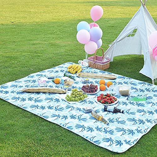 Siyse Faltbare Picknickdecke wasserdichte Unterlage Camping Outdoor Beach Festival Teppichmatte Oxford Stoff-150 * 200cm