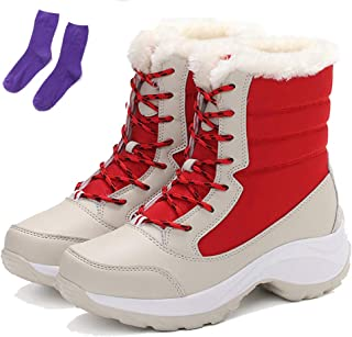 womens waterproof snow boots size 12