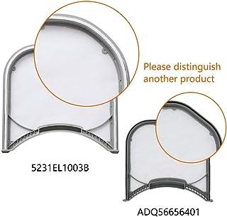 5231EL1003B Dryer Lint Screen Filter with Felt Rim Seal Replacement Parts by AMI PARTS Compatible with LG Dryer - Replaces AP4440606 5231EL1003A(1pcs)