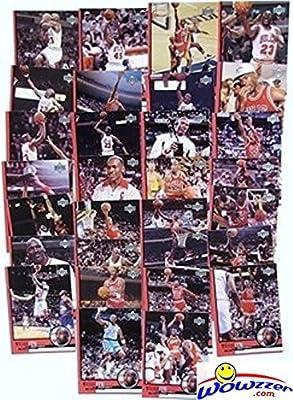 Michael Jordan Complete 30 Card Upper Deck Career Tribute Set Highlighting his Legendary Hall of Fame Career with 6 NBA Titles $60 !!