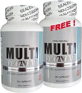 Anti-aging Multi-vitamins with Organic Ingredients 90 + 90 Free Capsules