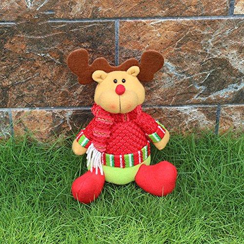 Decorazioni di Natale Highdas telescopico Bambola Puppet