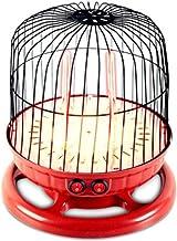 YLOVOW Calentador Tubo Cuarzo Calentador Jaula Pájaros Pequeño Estufa Mahjong Debajo del Calentador Mesa 2 Ajustes Calor