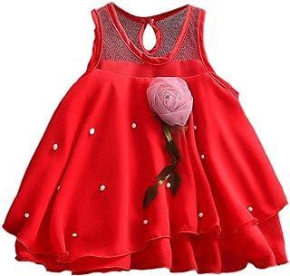 Robe De Bebe Fille Princesse C/éR/éMonie Mini Robe Bebe Fille Ete 0 /à 24 Mois Floral Fronc/é Arc Past/èQue Princesse Robe V/êTements // 2Pc Vetement De Marque Walaka