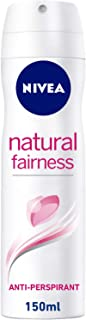 NIVEA, Deodorant Female, Natural Fairness, Spray, 150ml