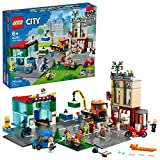 LEGO City Town Center 60292 Building Kit; Cool Building Toy for Kids, New 2021 (790 Pieces)
