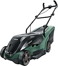 Bosch Cordless Lawnmower UniversalRotak 36-550 (36 Volt, Without Battery, Cutting width: 36cm, Lawns up to 550 m², in Cart...