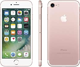 Apple iPhone 7, 128GB, Rose Gold - For AT&T / T-Mobile (Renewed)