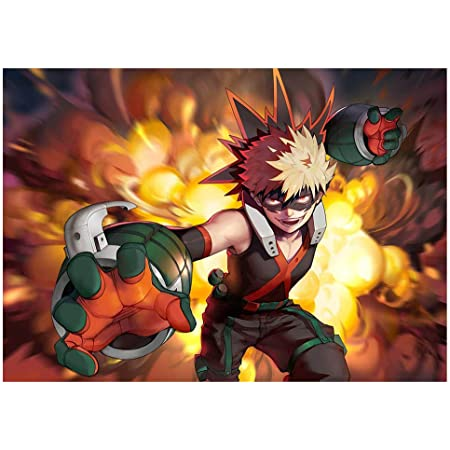 MY HERO ACADEMIA Poster Main Characters Anime Poster Hanging Paint Wall Decor GB