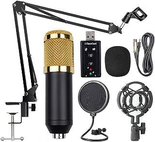 pezza per pulire ZJ-ZB-01G11 First2savvv nero Stand per cellulare /& Microfono Asta di Sospensione Braccio a Forbici con Supporto Clip e Serratura da Tavolo /& Filtro Pop Anti-vento per Microfono