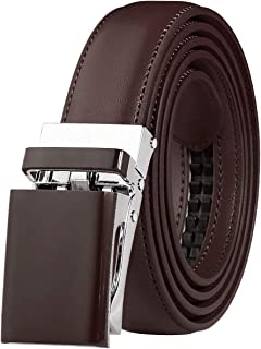 Automatic Ratchet Belt for Women Kids Boys and Girls Multicolor Genuine Leather Belt - Trim to Fit