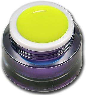 Premium amarillo neón UV Gel 5ml farbgel Colorgel uñas diseño RM beautynails