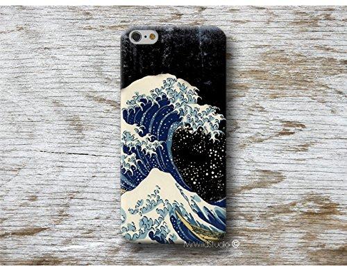 BIg Wave Hokusai Hülle Handyhülle für Huawei P40 P30 P20 P10 P9 P8 Lite Mate 30 20 10 9 Pro Lite Y7 2019 Y6 Y5 2018 P Smart 2019 Z Case Cover