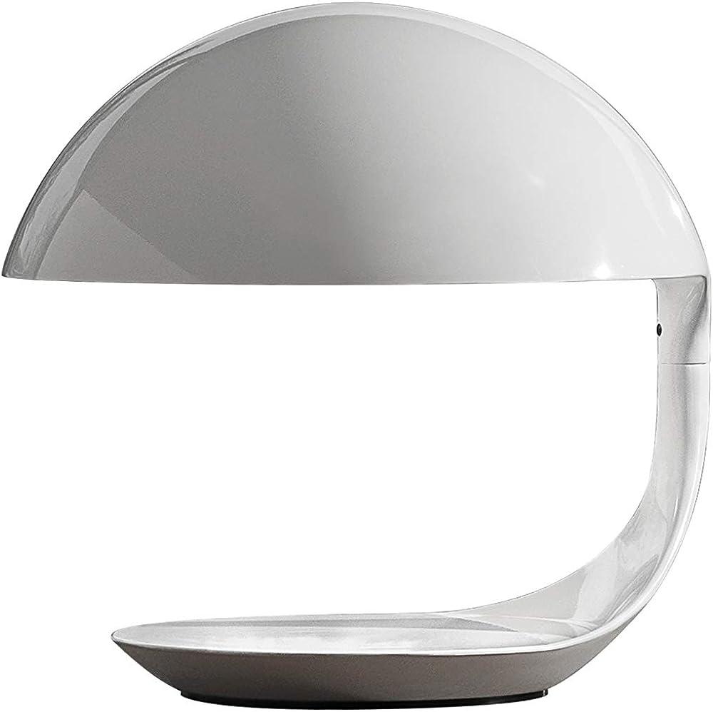 Martinelli luce cobra, lampada da tavolo girevole in resina 629
