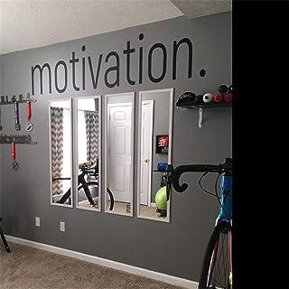Motivation Wall Sticker – Gym Fitness Wall Decals – Sport Poster Workout..
