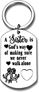 Sister Gifts Keychain Gifts For Sister From Sister Best Friends Gifts Friendship Big Little Sister Girls Christmas Gifts