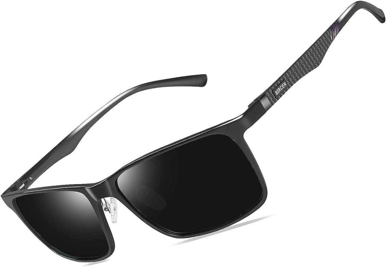 Bircen Mens Polarized Driving Sunglasses Al-Mg famous For Great interest Women Me