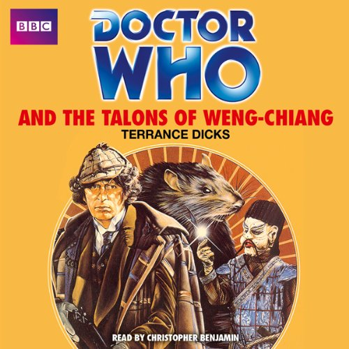 Doctor Who and the Talons of Weng-Chiang audiobook cover art