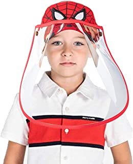 Protective Kids Baseball Cap with Shield Sunproof...