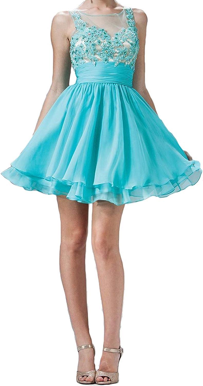 Cinderella Divine Womens Sleeveless Homecoming Dress Jade, Aqua, Watermelon 4, 8