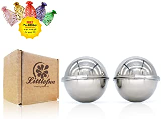 stainless steel bath bomb mold 2 pieces