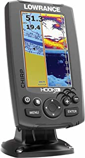 Lowrance 000-12647-001 Hook-4 Sonar/GPS Mid/High/Downscan Fishfinder