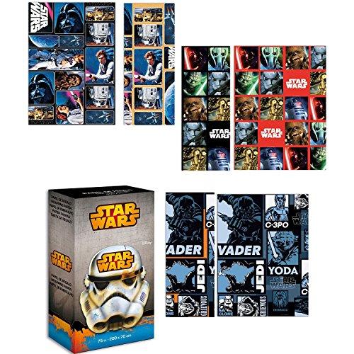 Rollo Papel Regalo Star Wars Clásico