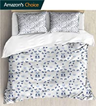 carmaxs-home Bedding Bedspread,Box Stitched,Soft,Breathable,Hypoallergenic,Fade Resistant Kids Bedding -Double Brushed Microfiber -Kids Ribbons Teddy Bears (68