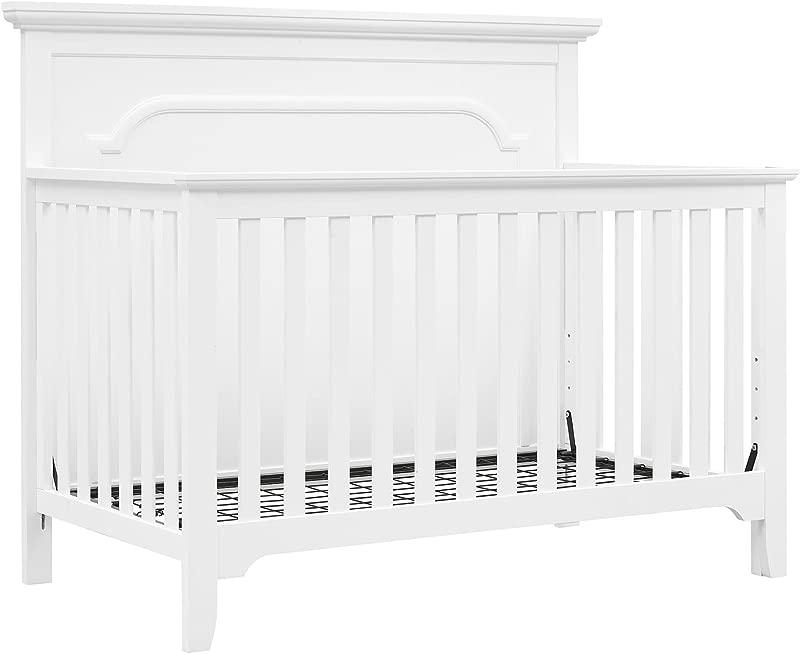 Baby Relax Ferris 4 In 1 Convertible Crib Pure White