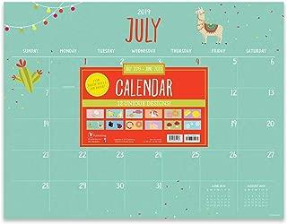 Monthly Themed Large Desk Pad Monthly 2020 Calendar: July 2019 - June 2020 (Academic Year Desktop Calendar, Planning Blotter)