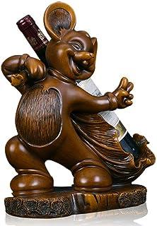 LULUVicky-Home Armoire à Boissons, Bar, vin, Souris, casier à vin, Artisanat, décoration de Bureau, Cadeaux, Sculptures en...