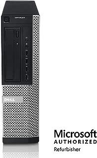 Dell Optiplex 9010 Desktop PC, 3.2 GHz Intel Core i5-3470, 16GB RAM, 2TB HDD, SSD, Monitor, Keyboard/Mouse, WiFi, BT, DVD-RW, Windows 10 (Renewed)