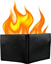 KKTech Magic Flaming Fire Wallet Magician Stage Street Inconceivable Show Prop