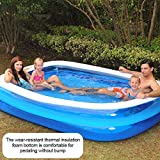 Piscina Hinchable Rectangular Pequeña - Piscina Inflable para...