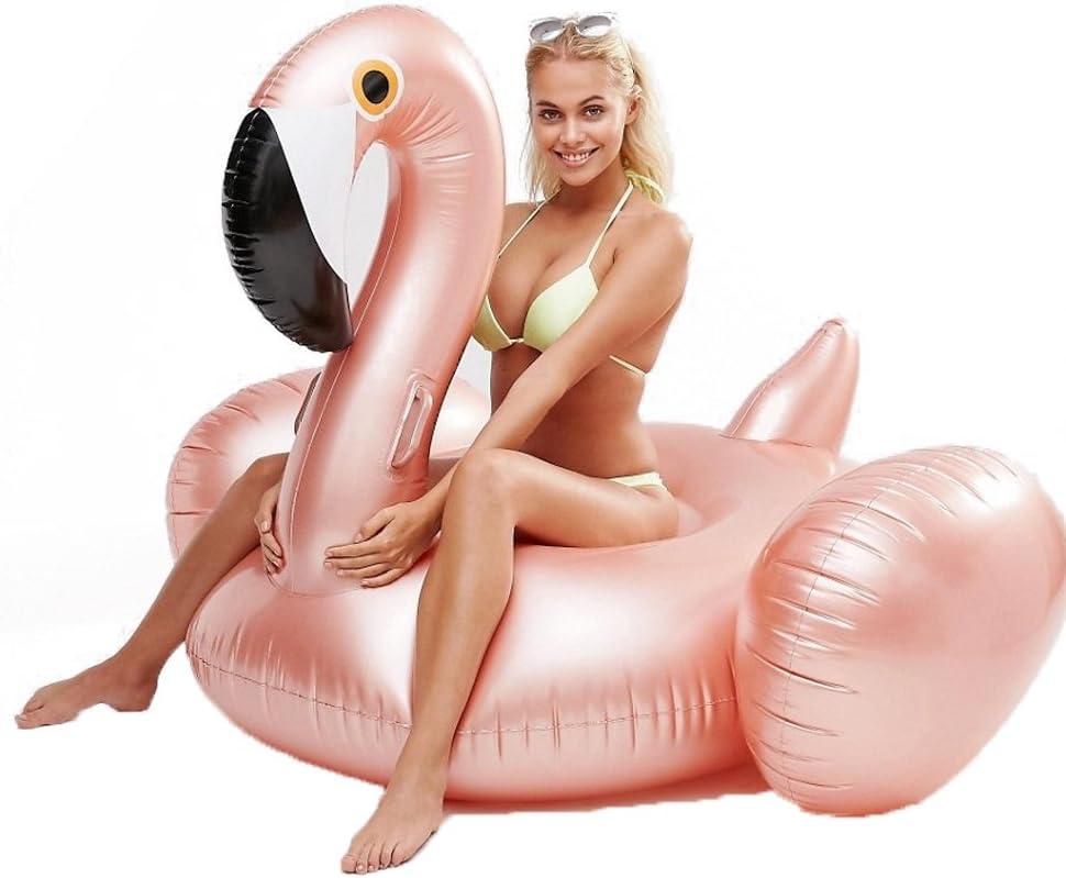 Xiangtat Giant Inflatable Flamingo Pool Swimm Beach Float trend rank Summer Max 63% OFF