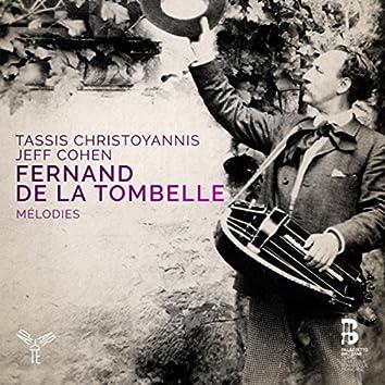 Fernand de la Tombelle, mélodies