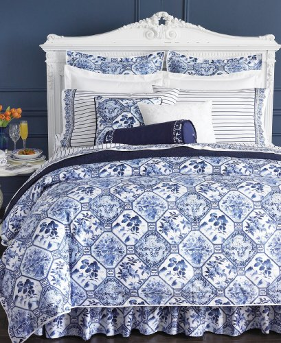 Lowest Prices! Ralph Lauren Lauren Bedding, Palm Harbor Octagonal Full Bedskirt