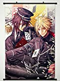Wall Scroll Poster Fabric Painting For Anime Amnesia Shin & Toma 25 S