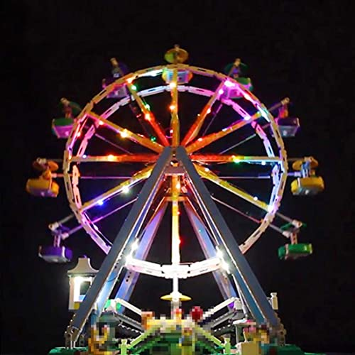 ahorre 60% de descuento Searchyou Luz LED Light Set Compatible Compatible Compatible con Lego 10247 - Creator Expert Ferris Wheel Building Kit (No Incluye el Modelo de Lego)  descuento online