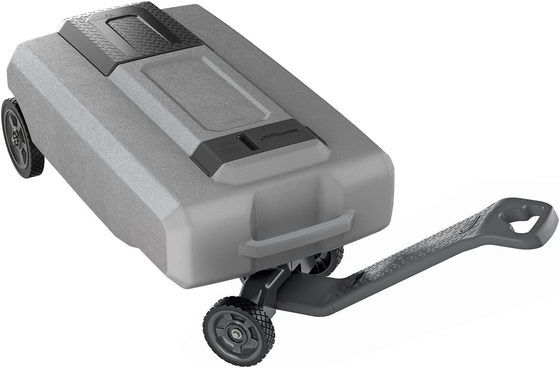 SmartTote2 LX Portable RV Waste Tote Tank - 4 Wheels - 27-Gallon Capacity - Thetford 40518