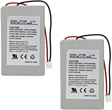MaxLLTo Replacement 2X 3.7v 1800mAh Battery Pack for Sony PS3 Controller