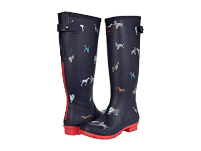 Joules Welly Print (Mayday Dogs) Women