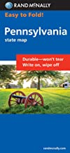 Easy To Fold: Pennsylvania (Rand McNally Easyfinder)