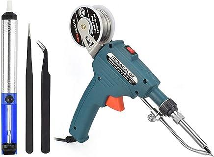 Soldering Gun, Automatic 60W Electronics Solder Iron Gun Kit, Soldering Tools with Desoldering Pump