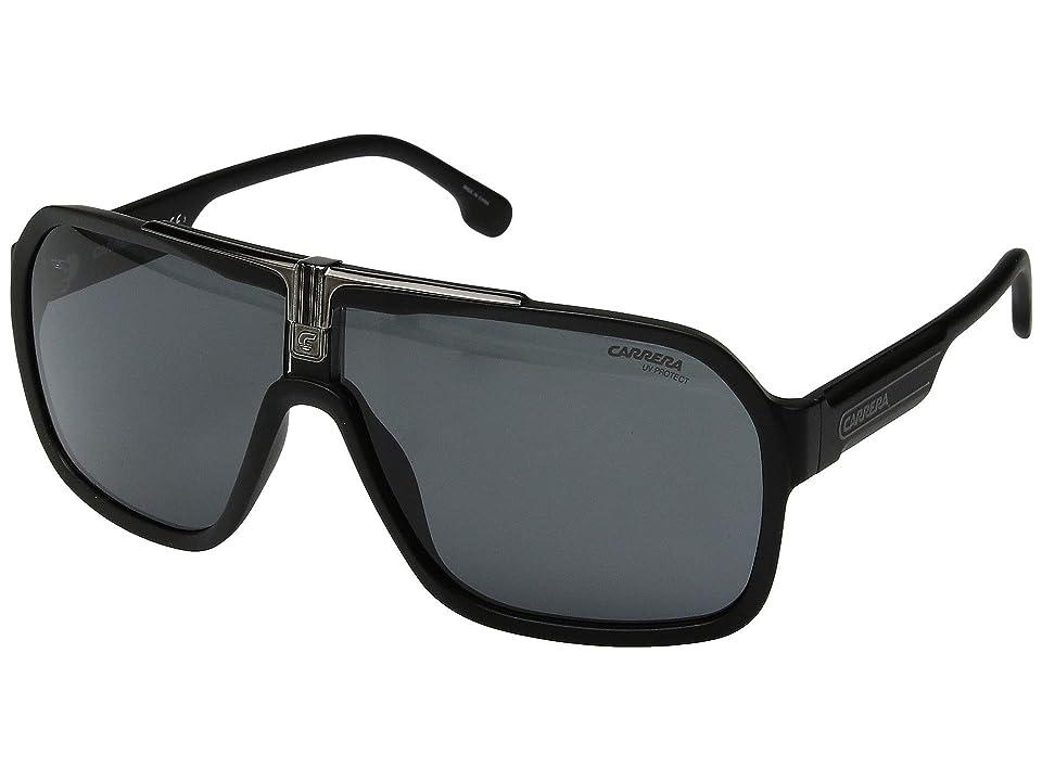 Carrera Carrera 1014/S (Black/Grey) Fashion Sunglasses
