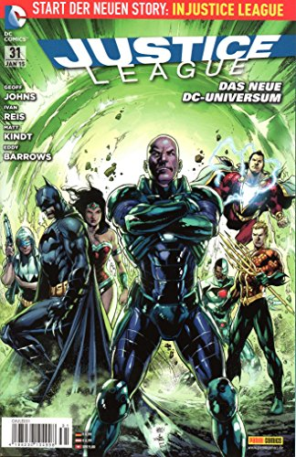 DC Entertainment COMIC JUSTICE LEAGUE # 31: Eingetretene Türen (Jan 2015)